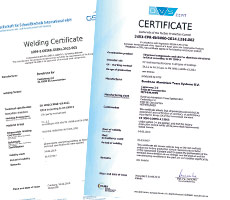 Eurocode Eurotruss Certificates